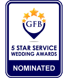 GFB - 5 Star Service Wedding Awards Nominated
